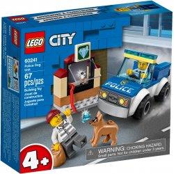 LEGO 60241 Oddział policyjny z psem