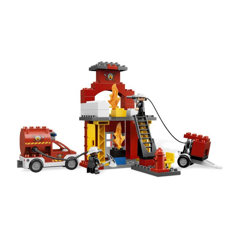 ... LEGO DUPLO 6168 Fire Station ...