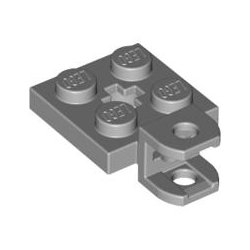 63082 Plate 2x2 W Ball Socket W/cros
