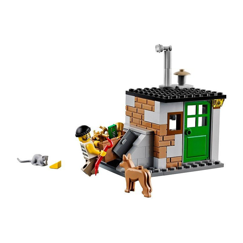 lego city crooks hideout instructions