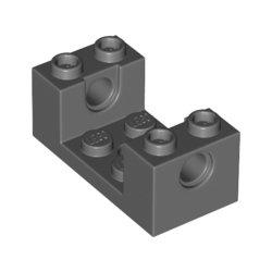 26447 Klocek / Brick 2x4x1 1/3 W/Ø4.85 Cutout