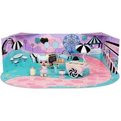 L.O.L. Surprise Furniture, Ice Cream Pop-Up, laleczka z mebelkami seria 2
