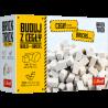 Brick Trick Zestaw uzupełniający cegły zamkowe białe 70 sztuk