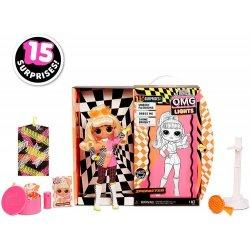 L.O.L. Surprise O.M.G. Lights Speedster Lalka Fashion 15 niespodzianek 565161