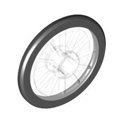 24314 Wheel 21x2 W/3.2 Hole