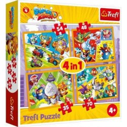 Puzzle 4w1 ZINGS BOHATEROWIE