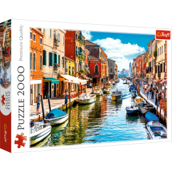 Puzzle 2000 el. Wyspa Murano, Wenecja