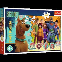 Puzzle 160 el. - Scooby Doo w akcji