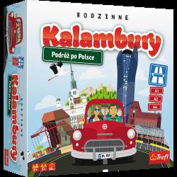 Kalambury. Podróż po Polsce Gra towarzyska