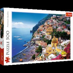 Puzzle 500 el. Positano, Wybrzeże Amalfickie, Włochy 37145