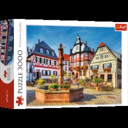 Puzzle 3000 el. Rynek w Heppenheim, Niemcy