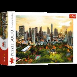 Puzzle 3000 el. Zachód Słońca w Bangkoku
