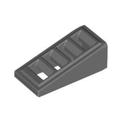 61409 Roof Tile W. Lattice 1x2x2/3