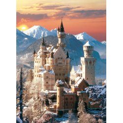 Puzzle 1500 el. HQ - Zamek Neuschwanstein