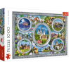 Puzzle 1000 el. Lo Coco Licensing: Zamki świata