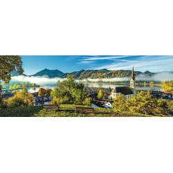 Puzzle 1000 el.Panorama - Nad Jeziorem Schliersee