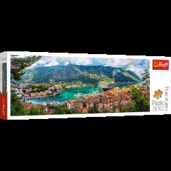Puzzle 500 el.Panorama - Kotor Czarnogóra