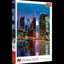 Puzzle 500 el. Pełnia Księżyca nad Manhattanem