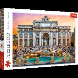 Puzzle 500 el. Fontanna di Trevi, Rzym