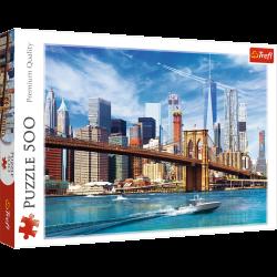 Puzzle 500 el. Widok na Nowy Jork