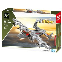 Samolot - Klocki Blocki - Wojsko KB84007