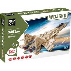 Odrzutowiec wojskowy - Klocki Blocki - Wojsko KB84021