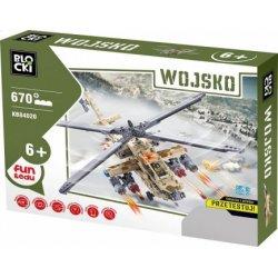 Helikopter Bojowy - Klocki Blocki - Wojsko KB84020