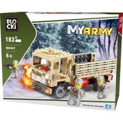 Ciężarówka - Klocki Blocki - Wojsko KB84027