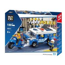 Pościg - Klocki Blocki -Policja KB0612