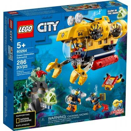 LEGO 60264 Łódź podwodna badaczy oceanu