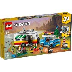 LEGO 31108 Wakacyjny kemping z rodziną