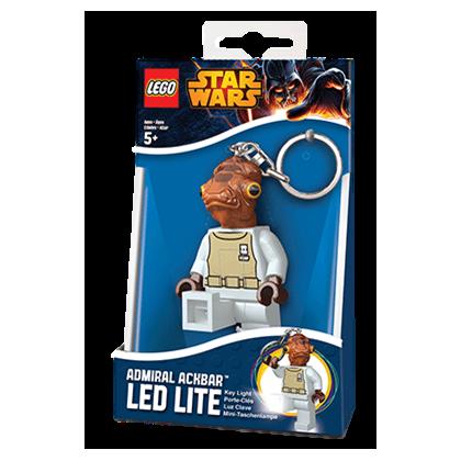 LEGO LGL-KE59 Brelok Latarka Admirał Ackbar Wtar Wars