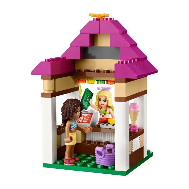 Lego 41008 heartlake city pool lego sets friends for Piscina lego friends