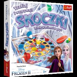 Skoczki Frozen 2 Gra Zręcznościowa Trefl 01902