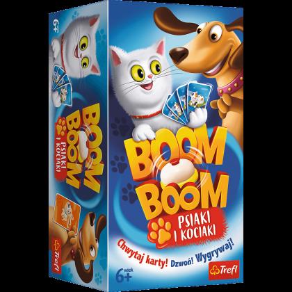Gra Boom Boom - Psiaki i Kociaki Trefl 01909