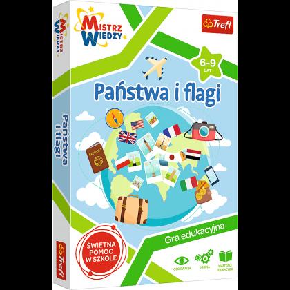 Gra Państwa i Flagi / Mistrz Wiedzy Trefl 01953