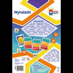 Gra Wynalazki / Mistrz Wiedzy Trefl 01958