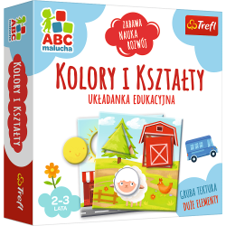 Gra Kolory i kształty / ABC Malucha Trefl 01939