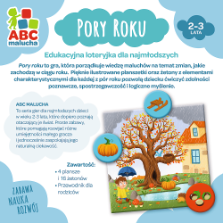 Gra Pory roku / ABC Malucha Trefl 01941