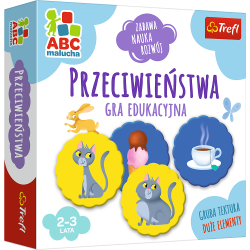 Gra Przeciwieństwa / ABC Malucha Trefl 01943