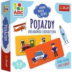 Gra Pojazdy / ABC Malucha Trefl 01942