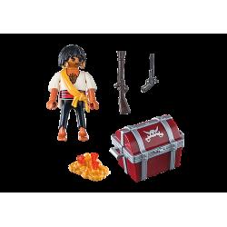 playmobil 9358 Pirat ze skrzynią skarbów
