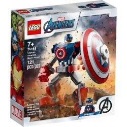LEGO 76168 Opancerzony mech Kapitana Ameryki