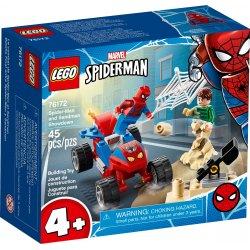 LEGO 76172 Pojedynek Spider-Mana z Sandmanem