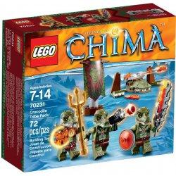 LEGO 70231 Plemię krokodyli