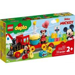 LEGO DUPLO 10941 Urodzinowy pociąg myszek Miki i Minnie