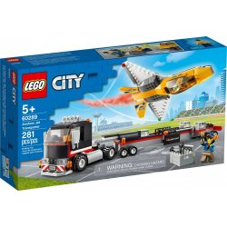 LEGO 60289 Airshow Jet Transporter