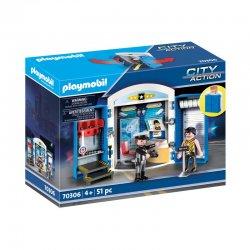 playmobil 70306 Zestaw Play Box Posterunek policji