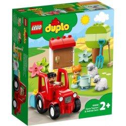 LEGO DUPLO 10949 Traktor i zwierzęta gospodarskie