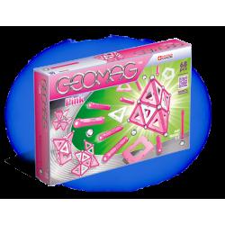 Pink Panels - klocki magnetyczne 68 el. G342